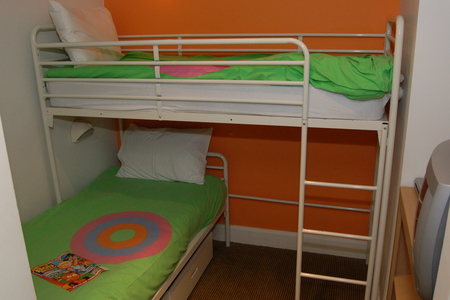 Kids bedroom in the Shoreline hotel at Butlins Bognor Regis