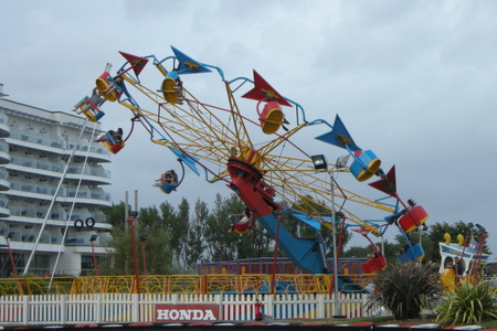 Butlins fairground at Bognor Regis