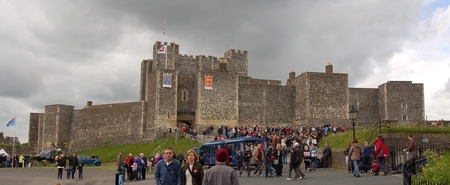 Dover Castle and war time tunnels - World war II weekend