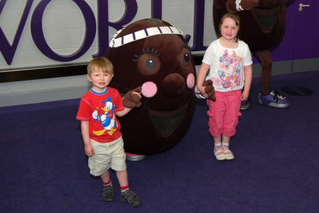 Cadbury World - at the Cadbury's chocolate factory - Bournville, Birmingham