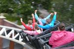Camping at Drayton Manor campsite, with days out at DraytonManor Thomasland and Cadbury World
