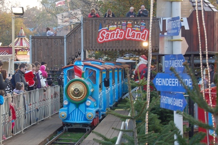 Santa's Express Train - at Hyde Park's Christmas Wonderland