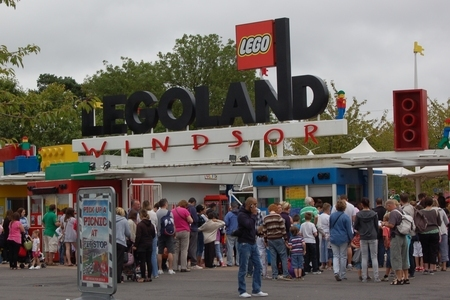 Legoland Windsor - main entrance