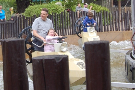 Wave surfer ride at Legoland Windsor