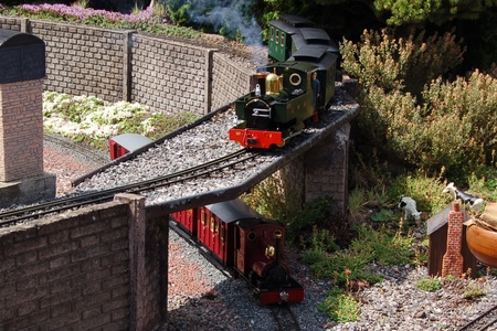 Garden Railway at Butterley Train Station