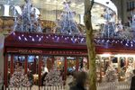 Paris Christmas market and Christmas lights