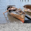 Family days out rowing boats on Derwent Water