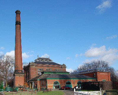 Abbey Pumping Station Museum in Leicester