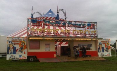 Uncle Sam's American Circus Tent at Redditch