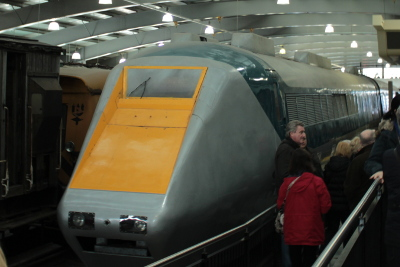 APT Advanced Passenger Train at Locomotion Shildon Railway Museum