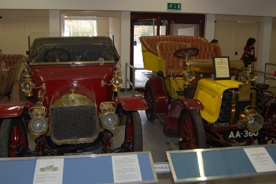 Vintage cars at the Black Country Living Museum