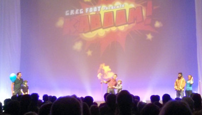 Kaboom - Fire on stage at the Big Bang Fair