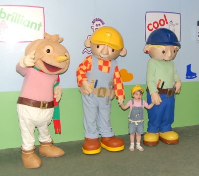 Bob The Builder, Wendy and Spud