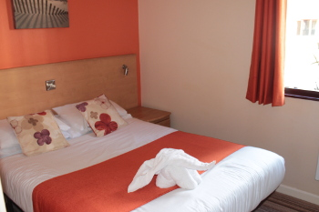 Butlins - Gold accommodation bedroom