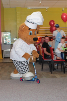 Children's character lunch at Butlins - Billy Bear