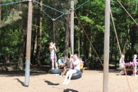 Childrens playground at Center Parcs