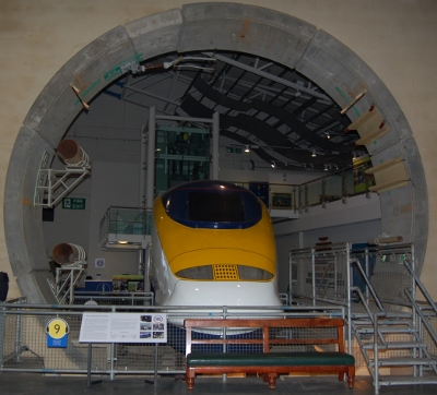 Eurostar, Channel Tunnel and Train