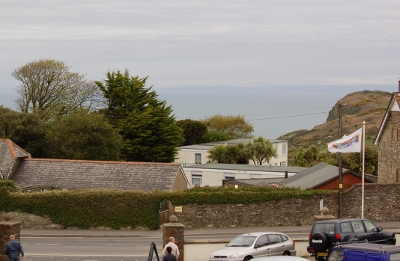 Sea view from holiday apartments at John Fowler Ilfracombe