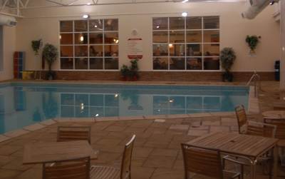 Indoor swimming pool at John Fowler Ilfracombe Holiday Park