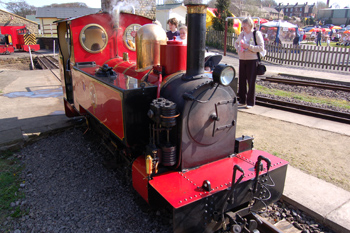 Kirklees Light Railway - Footplate Rides