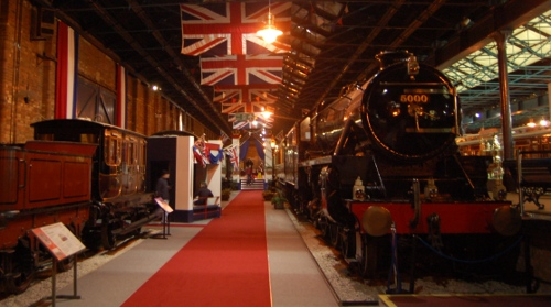 Royal Trains at the National Railways Museum York