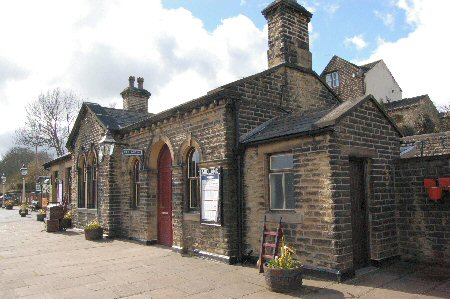 Oakworth Station (Film scene from The Railway Children)