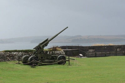 Gun at Pendennis Castle
