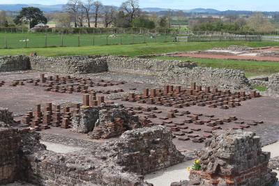 Wroxeter Roman City, Roman Baths