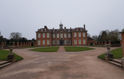 Hanbury Hall, National Trust house in Worcestershire